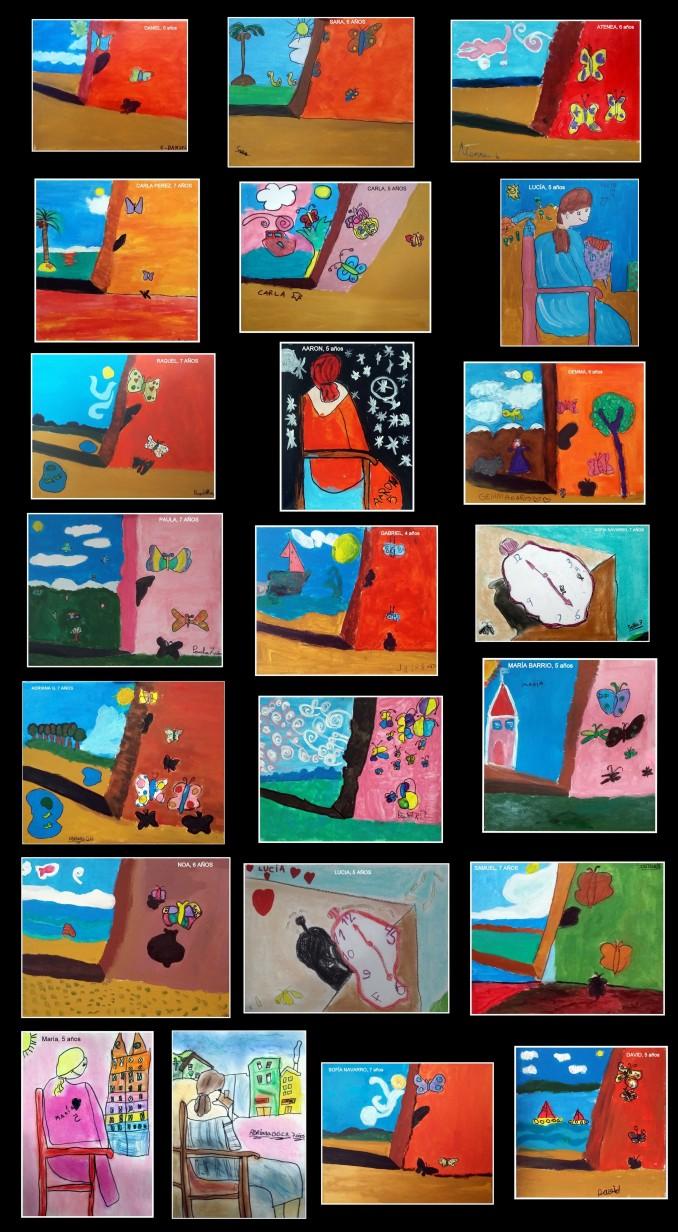 obras-de-dali-pintadas-poor-ninos-de-4-a-7-anos
