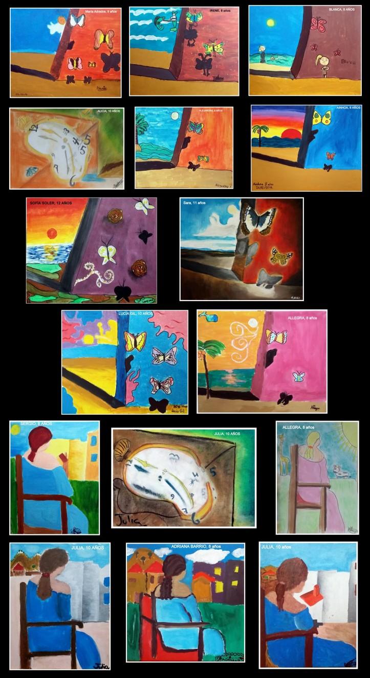 obras-de-dali-pintadas-poor-ninos-de-8-a-12-anos
