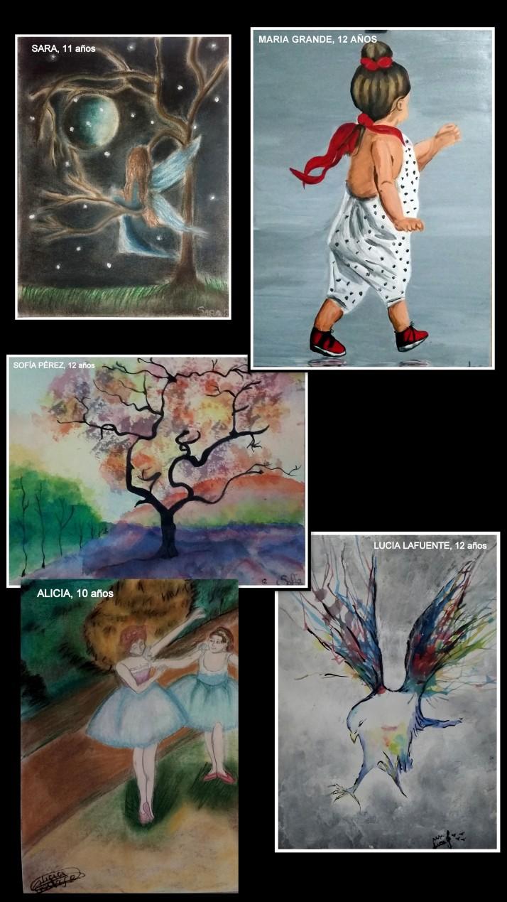 obras-en-acuarela-y-retratos-en-acrilico-y-decas-en-pastel-por-ninas-de-10-a-12-anos