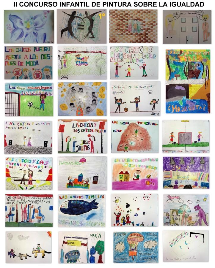 concurso dibujo niños sobre la igualdad en torrejon de ardoz