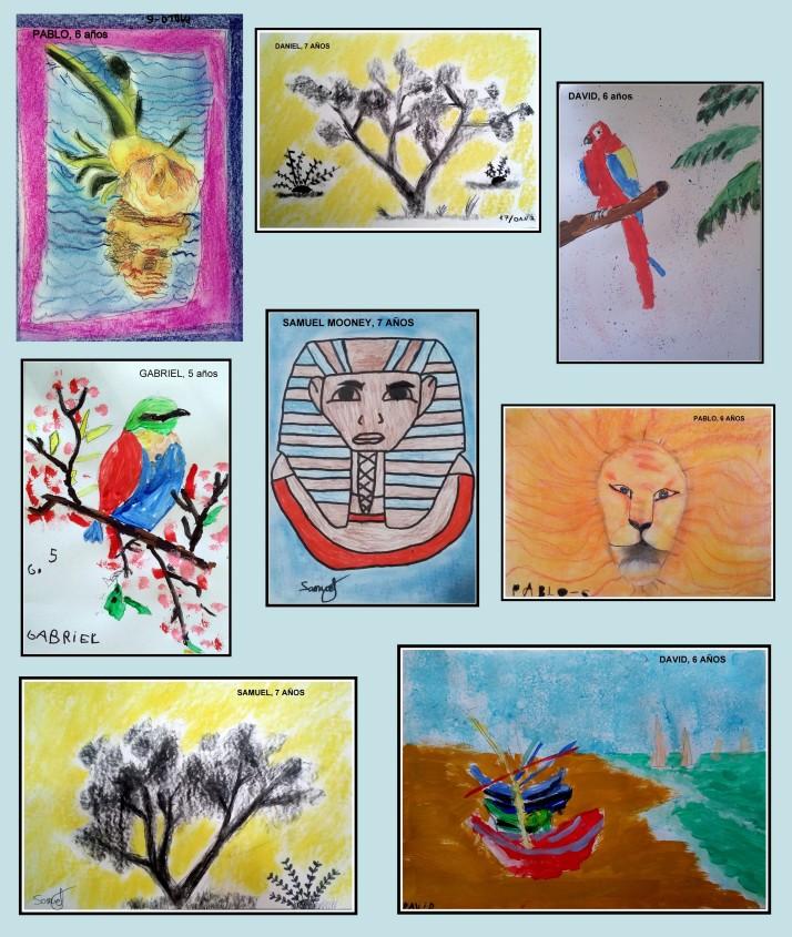 DIbujos de los niños de 4 a 7 años sobre egipto y animales.jpg