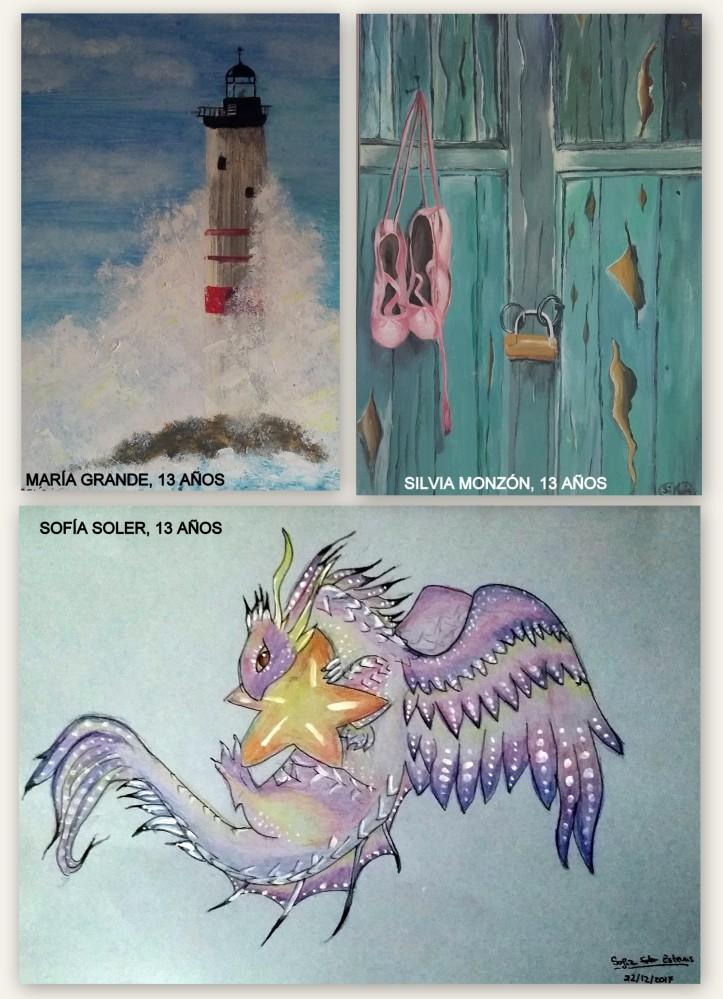 dibujos de dragones en tinta china y paisajes al oleo clase de dibujo y pintura para niños torrejon de ardoz