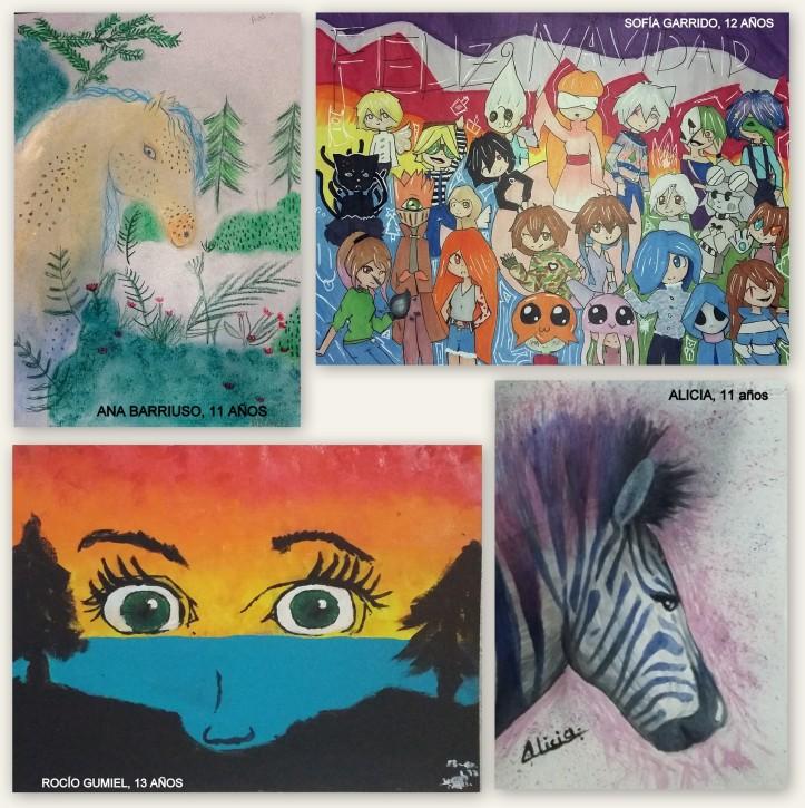 dibujos de manga en tinta china y paisajes al oleo clase de dibujo y pintura para niños torrejon de ardoz
