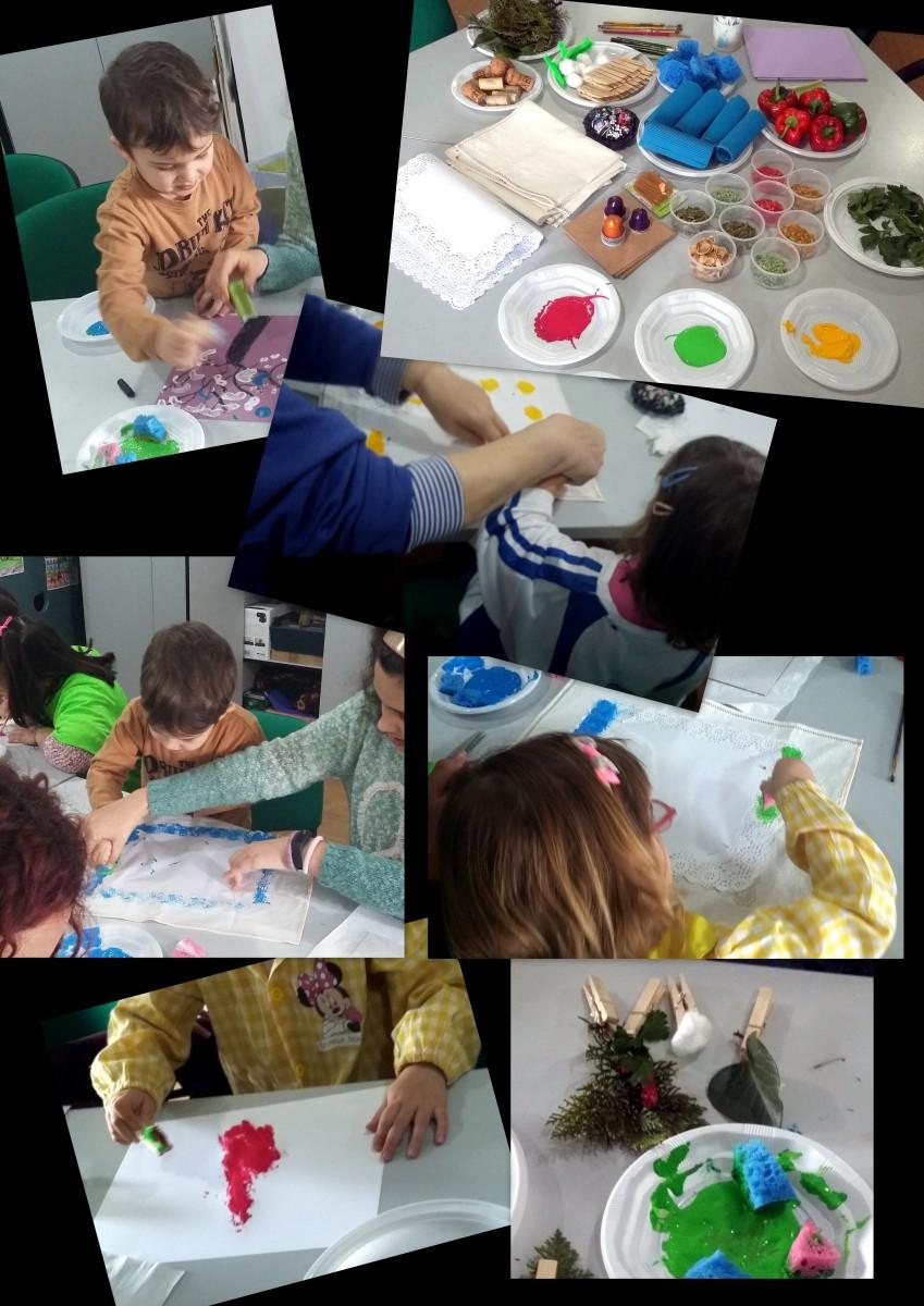 ¡¡Que trabajos tan bonitos hicieron los pequeñines de 2 a 4 años en el taller familiar!!