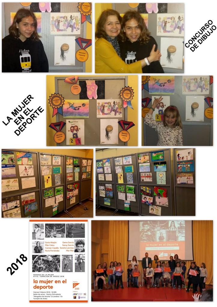 Concurso dibujo niños igualdad torrejon de ardoz