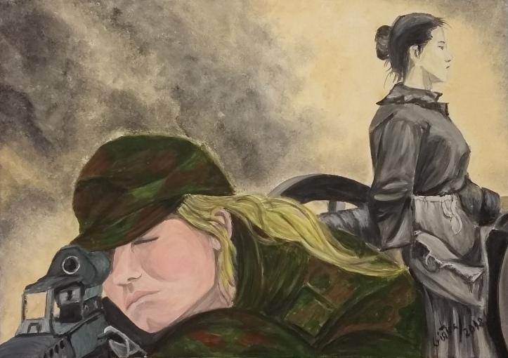 Cristina Estevas premio pintura igualdad dia de la mujer