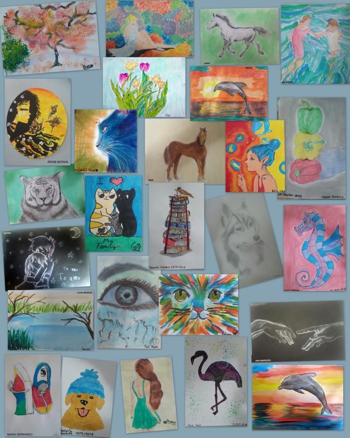 clases de dibujo y pintura para niños en torrejon de ardoz 2