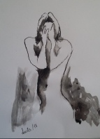 DESNUDO TINTA CHINA