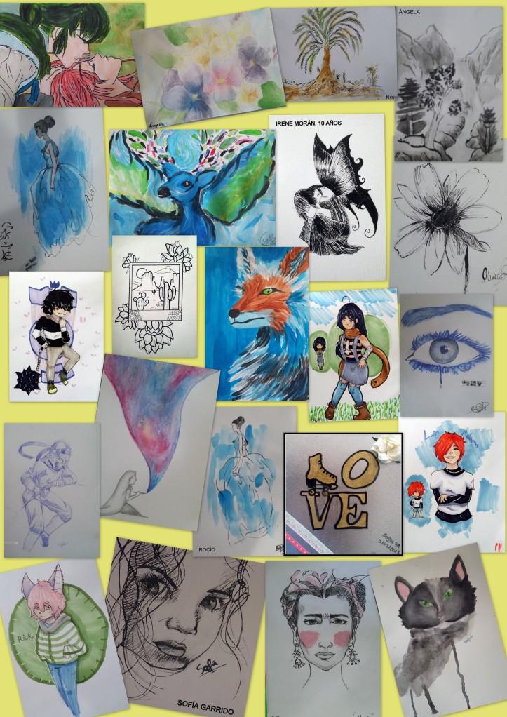 academia dibujo y pintura niños torrejon ardoz 12 a 14 años
