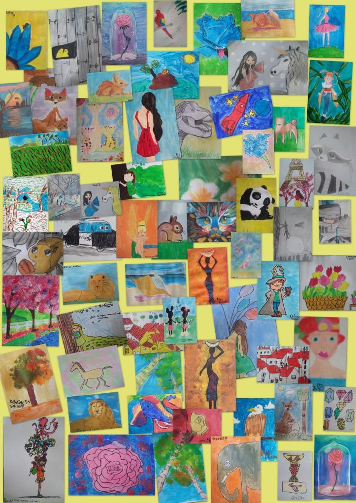academia dibujo y pintura niños torrejon ardoz 4 a 8 años