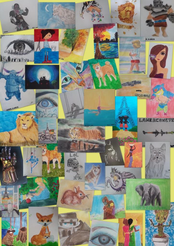 academia dibujo y pintura niños torrejon ardoz 9 a 11 años