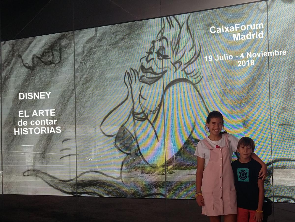 Disney en Caixa Forum - Planes con niños en Madrid