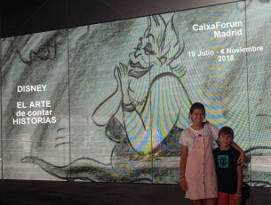Disney en Caixa Forum Madrid