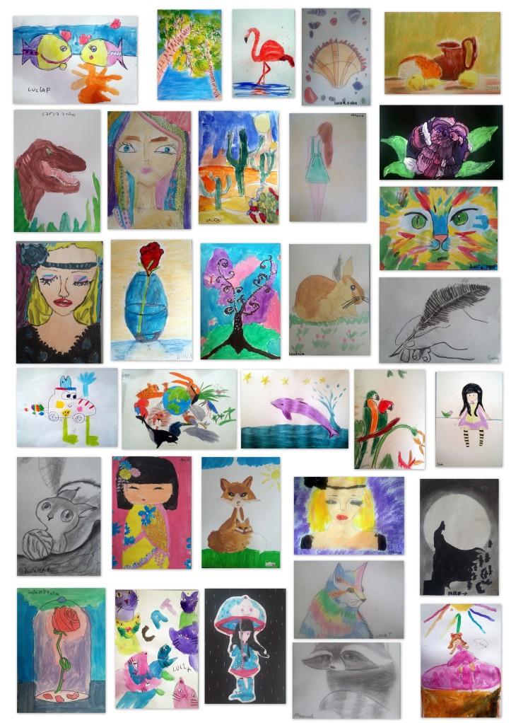 academia dibjo y pintura niños torrejon de ardoz 4 - 7 años
