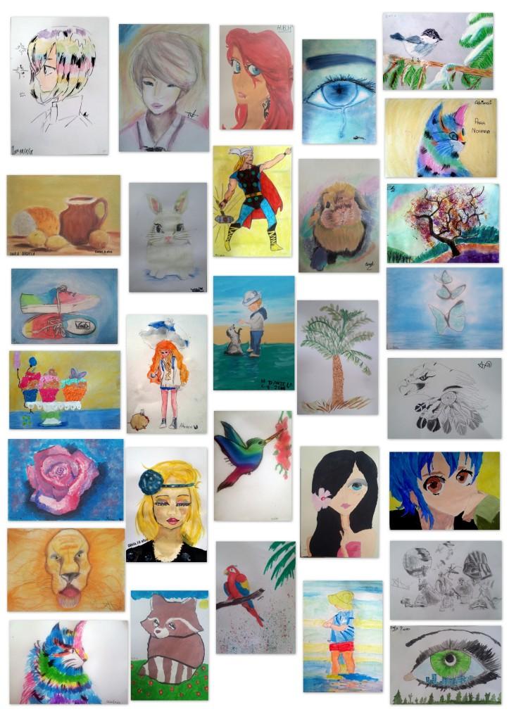 academia dibjo y pintura niños torrejon de ardoz 8 - 11 años