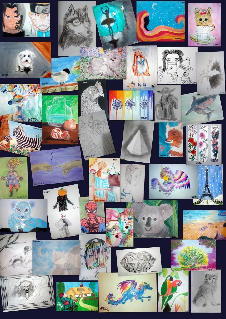dibujos de niños de 9 a 11 años