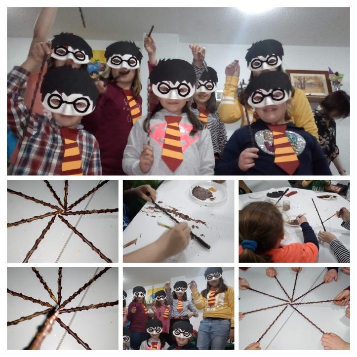 Taller manualidades carnaval Harry Potter Torrejón ardoz