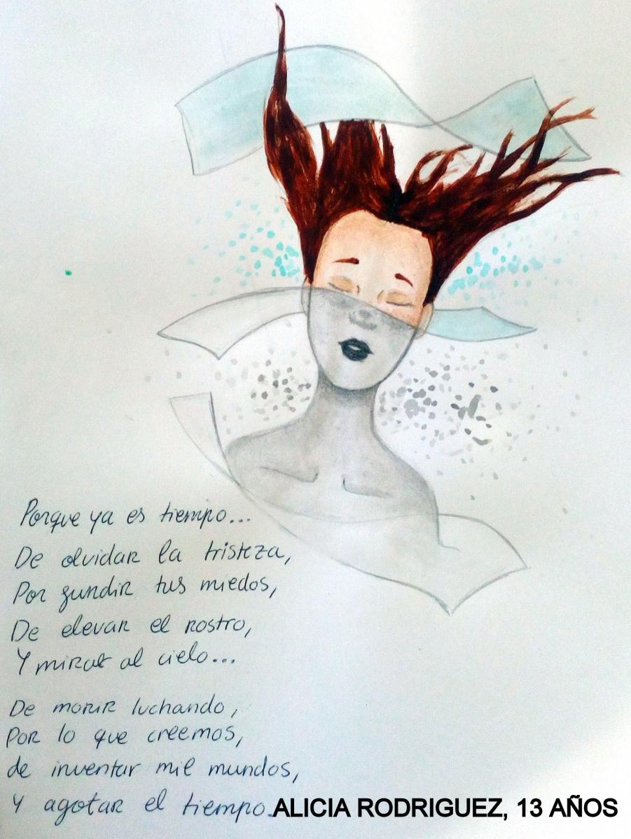 EJERCICIOS DE ILUSTRACION (2) - TEXTOS DE MARÍA VICENT