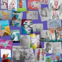 Preciosos trabajos son de los artistas medianos - De 9 a 11 años