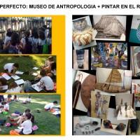 COMBINACIÓN PERFECTA: VISITAR EL MUSEO ANTROPOLÓGICO Y PINTAR EN EL PARQUE DEL RETIRO - PLANES CON NIÑOS