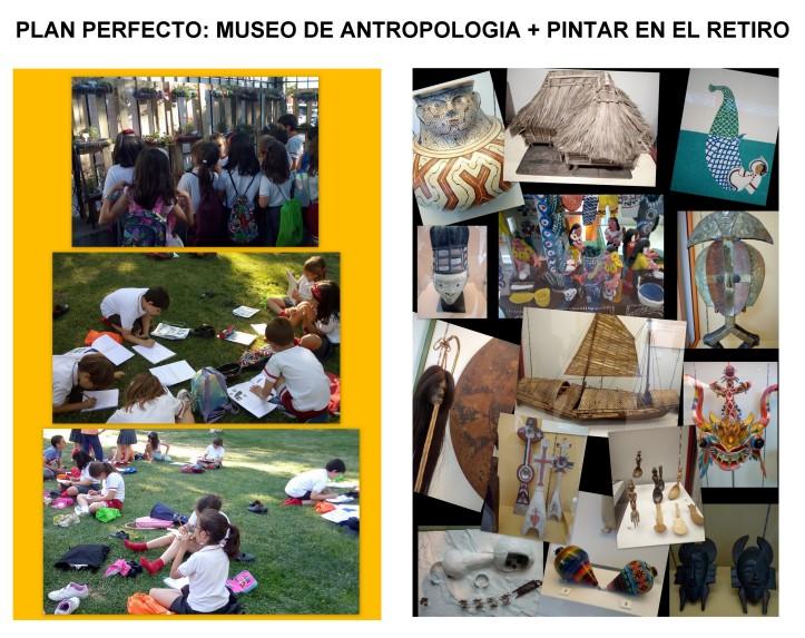 MUSEO DE ANTROPOLOGIA Y PARQUE DEL RETIRO EN MADRID - PLANES CON NIÑOS