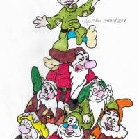 Dibujando el mundo Disney - My Walt Disney Paintings -El blog de Sofía Soler