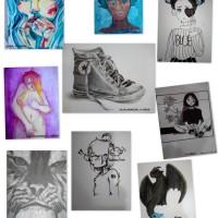 Colofón final con mis artistas de 13 a 15 años