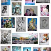 Noviembre se ilumina con las obras de mis artistas