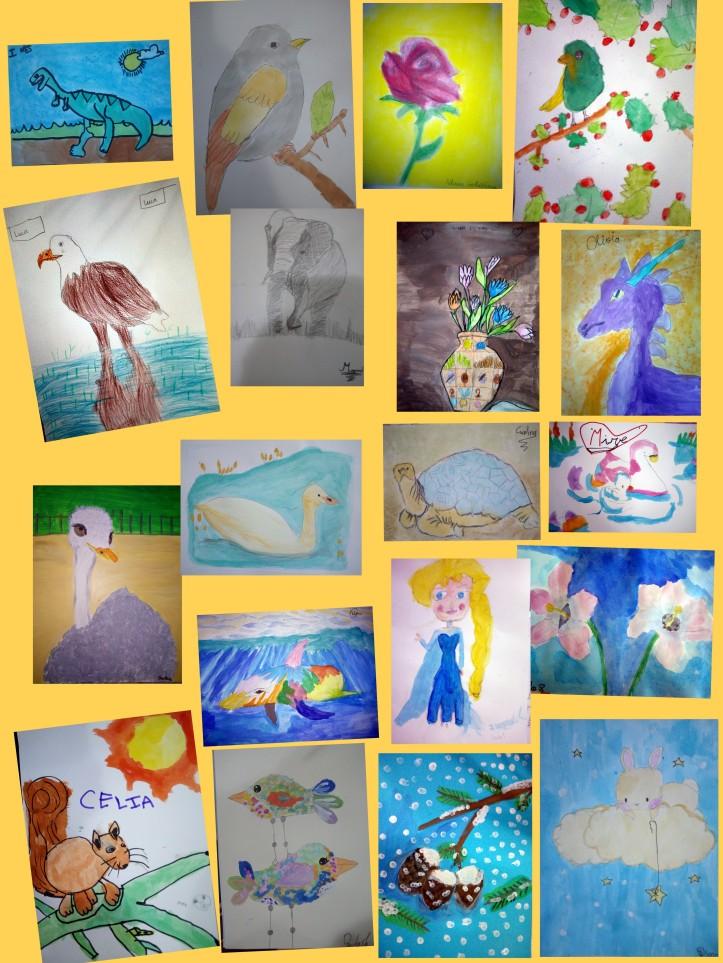 dibujos niños 5 a 8 años