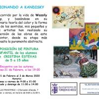 """VERSIONANDO A KANDINSKY"" EXPOSICIÓN DE MIS PEQUEÑOS ARTISTAS"