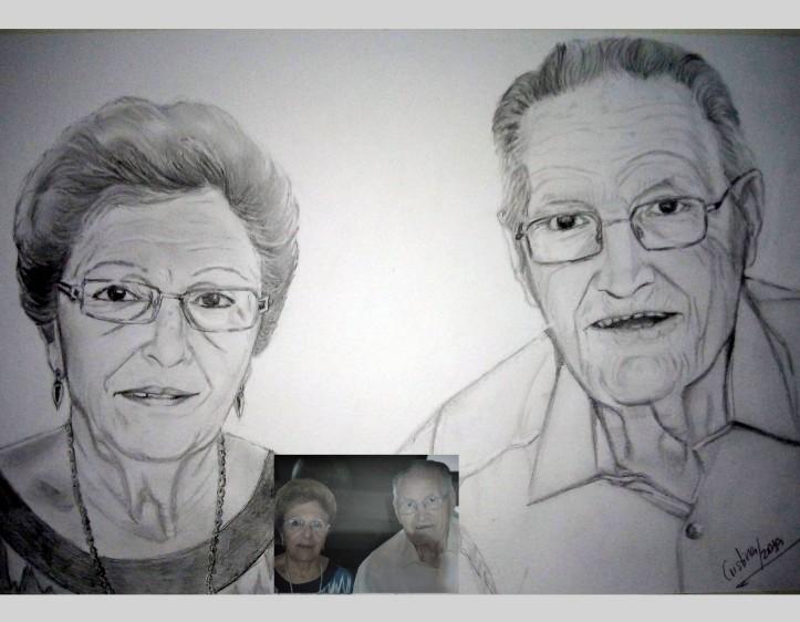 retrato ancianos por encargo