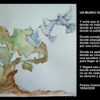 Poema ilustrado - Un mundo en libertad