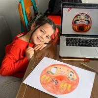 La leyenda del Daruma - Isabel, 5 años