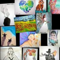 Mis artist@s 4 a 15 años irradian creatividad